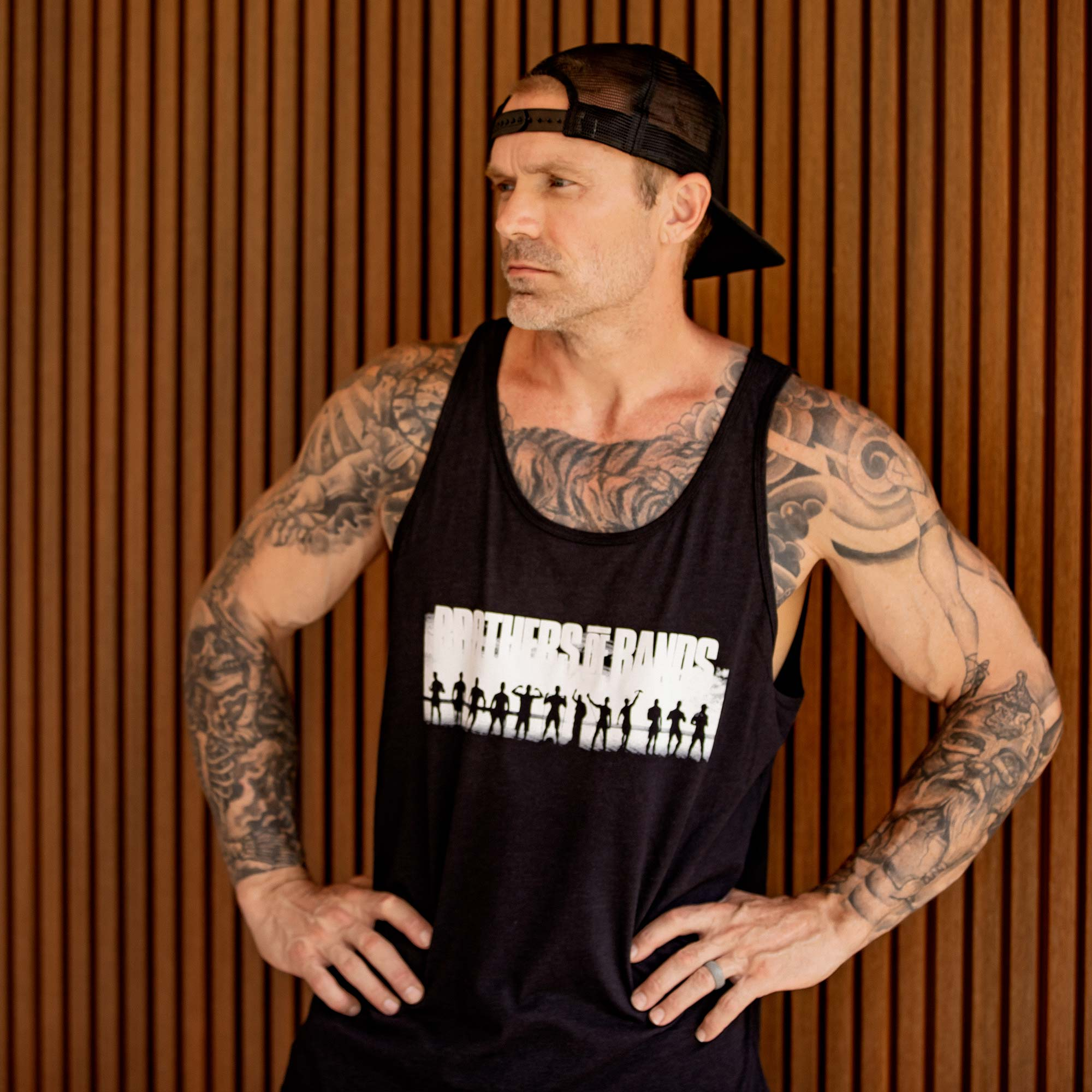 "Undersun Unisex ""Brothers of Bands"" Tank -  - Undersun Fitness"