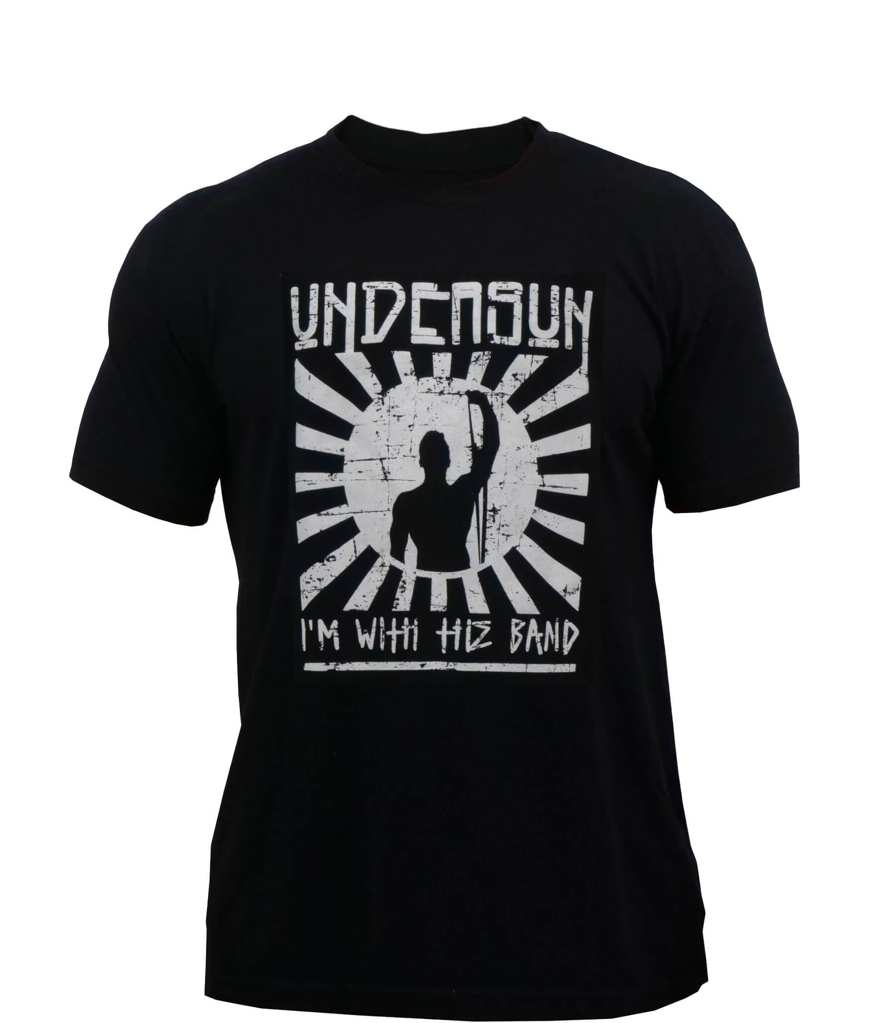 "Undersun Unisex ""I'm With the Band"" Crew T-Shirt -  - Undersun Fitness"