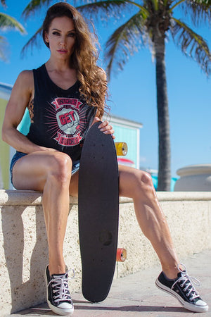 Ladies' Muscle Tank - Undersun Fitness