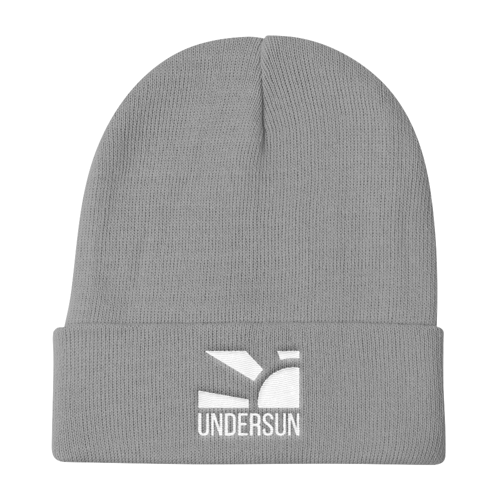 Undersun Knit Beanie - Gray / One size fits all / Unisex - Undersun Fitness