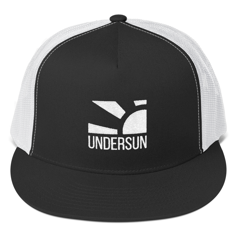 Undersun Mesh Back Hat - Black / One size fits all / Unisex - Undersun Fitness