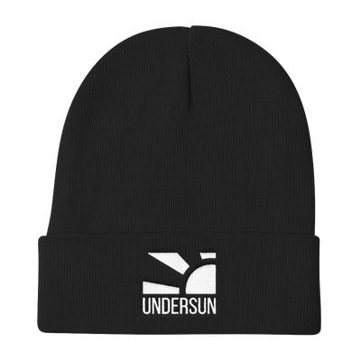Undersun Knit Beanie - Black / One size fits all / Unisex - Undersun Fitness