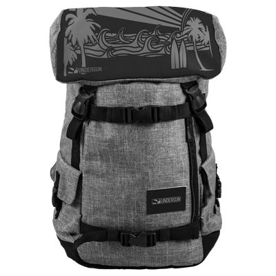 Undersun Signature Backpack - Ocean Sun - backpack / Grey/Black - Undersun Fitness