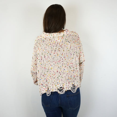 CAKE POP CONFETTI SWEATER