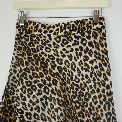 OH WILD ONE LEOPARD SKIRT