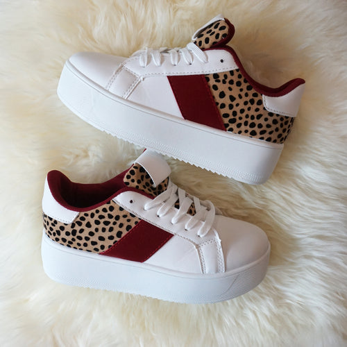 GIRL POWER PLATFORM SNEAKERS