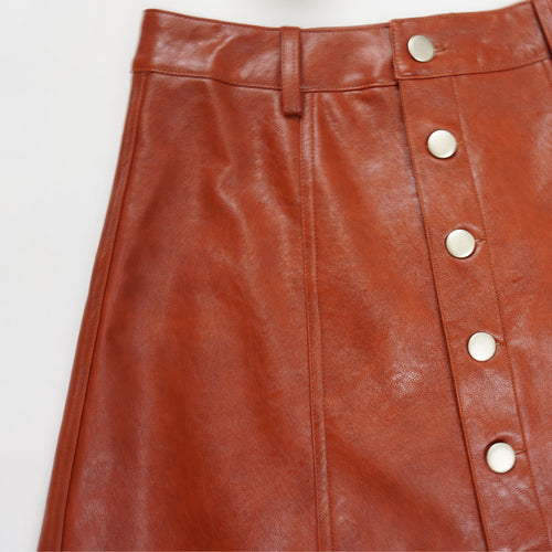 BLAIR LEATHER SKIRT
