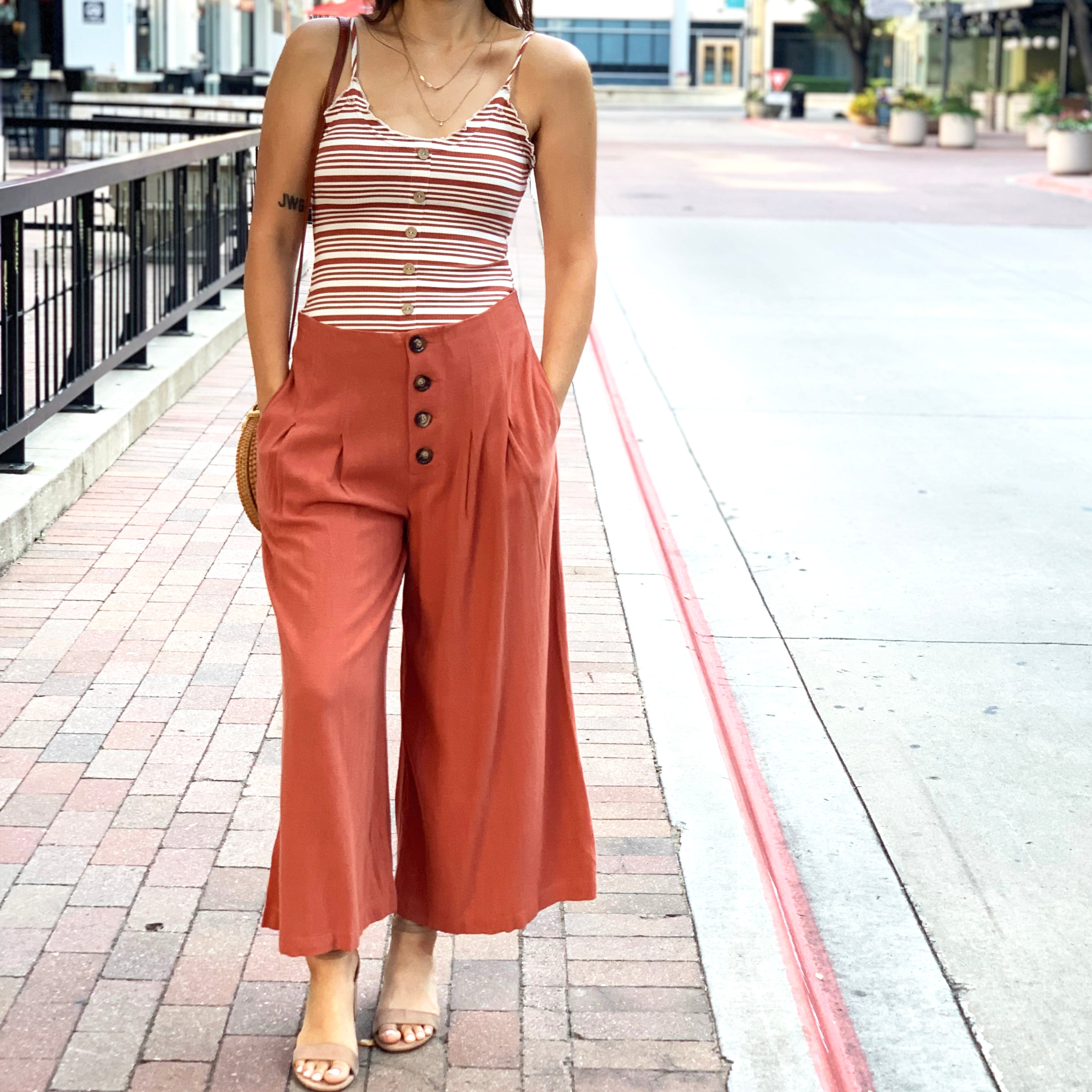 CATALINA WIDE LEG TROUSERS