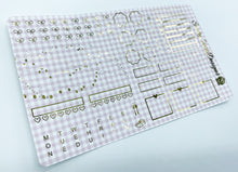 Gingham Foiled Hobonichi Weeks Kit