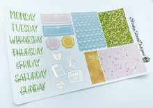 Summer Blooms Foiled Weekly Kit