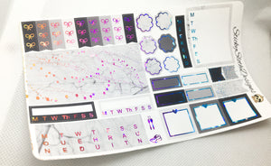 Marble Foiled Hobonichi Weeks Kit