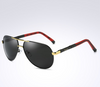 Men's polarized sunglasses color film polarizer sunglasses driving mirror