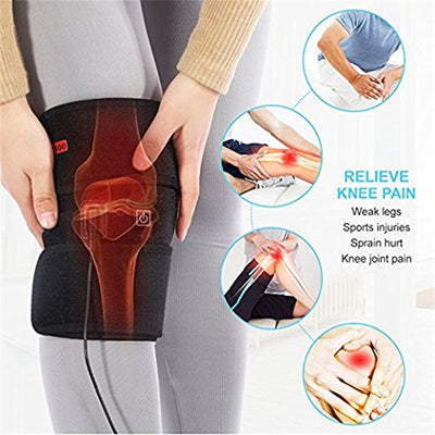 Knee brace Electric Heat Therapy Wrap support