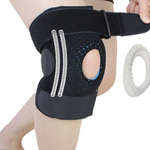 Meniscus Knee Pads with Springs