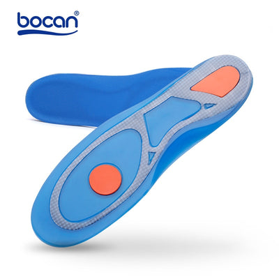 Silicon Gel Insoles Foot Care for Plantar Fasciitis Heel Spur