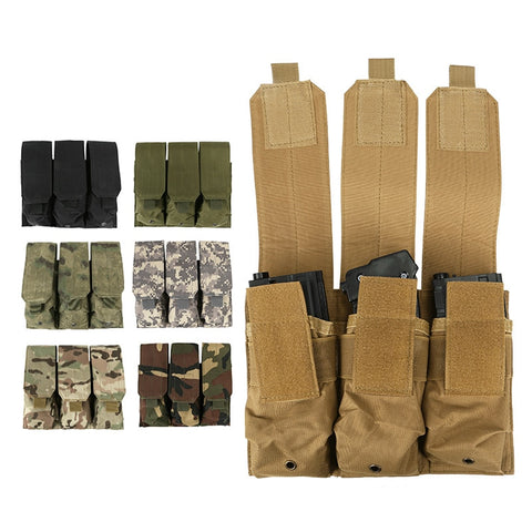 Outdoor Military Tactical Triple Pack Camo Bag