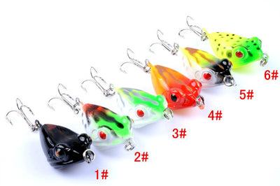 Water Wobbler Crank Frog Fishing Lure