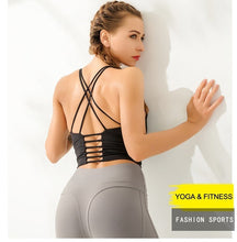 Load image into Gallery viewer, Bikswim Gym Push Up Sports High Impact Yoga Top Sport  Brassiere