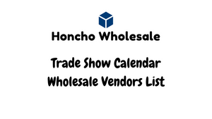 Trade Show Calendar Wholesale Vendors List