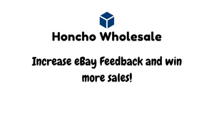 Increase eBay Feedback and win more sales!