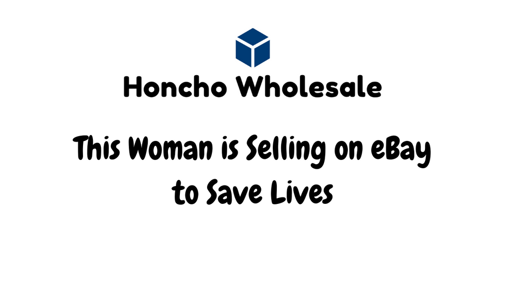 This Woman is Selling on eBay to Save Lives