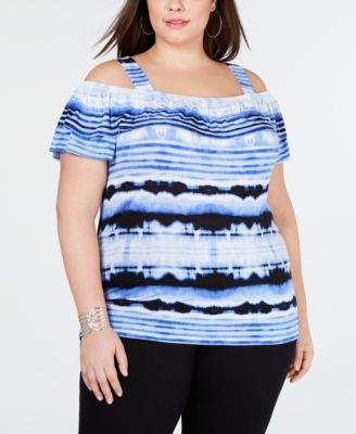 #SC226 WOMEN'S PLUS SIZE APPAREL PRIMARILY SPRING/SUMMER - $3,233.73 MSRP, 49 UNITS, SHELF PULLS