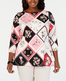 #SC267 WOMEN'S PLUS SIZE APPAREL PRIMARILY SPRING/SUMMER - $1,446.46 MSRP, 25 UNITS, SHELF PULLS
