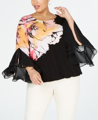 #C208 WOMEN'S PLUS SIZE APPAREL PRIMARILY SPRING/SUMMER - $1451 MSRP, 25 UNITS, SHELF PULLS