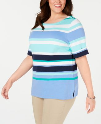#C195 WOMEN'S PLUS SIZE APPAREL PRIMARILY SPRING/SUMMER - $1,550.98 MSRP, 25 UNITS, SHELF PULLS