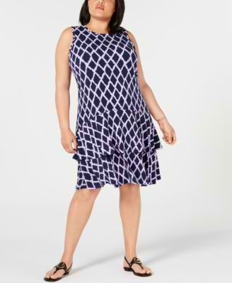 #C200 WOMEN'S PLUS SIZE APPAREL PRIMARILY SPRING/SUMMER - $1560.5 MSRP, 25 UNITS, SHELF PULLS