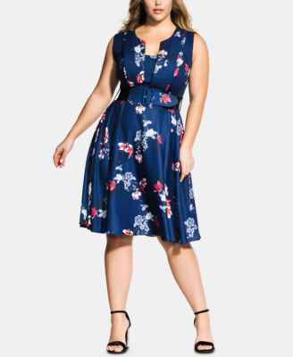 #C216 WOMEN'S PLUS SIZE APPAREL PRIMARILY SPRING/SUMMER - $1270.97 MSRP, 25 UNITS, SHELF PULLS