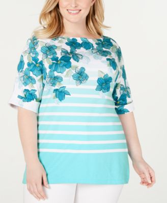 #C210 WOMEN'S PLUS SIZE APPAREL PRIMARILY SPRING/SUMMER - $1181.95 MSRP, 25 UNITS, SHELF PULLS