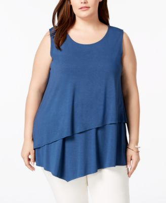#C138 WOMEN'S PLUS SIZE APPAREL PRIMARILY SPRING/SUMMER - $1631.48 MSRP, 25 UNITS, SHELF PULLS