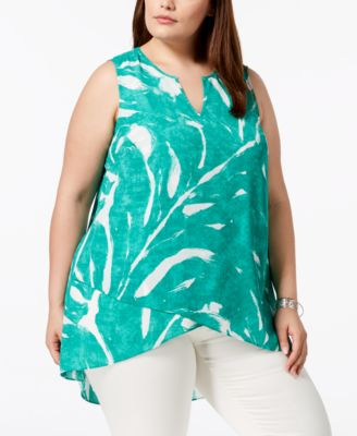 #SC284 WOMEN'S PLUS SIZE APPAREL PRIMARILY SPRING/SUMMER - $1,467.09 MSRP, 25 UNITS, SHELF PULLS