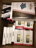 #CA1038 CELL PHONE ACCESSORIES - $844.60 MSRP, 92 UNITS, NEW SHELF PULL/BOX DAMAGE