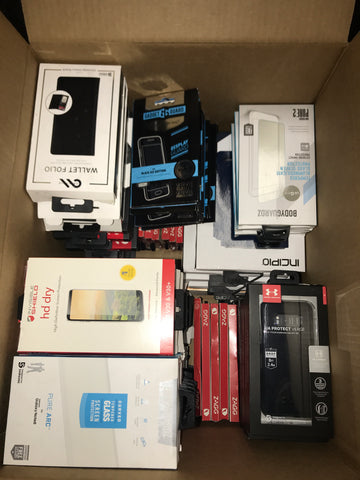 #CA1016 CELL PHONE ACCESSORIES - $1224.76 MSRP, 100 UNITS, NEW SHELF PULL/BOX DAMAGE