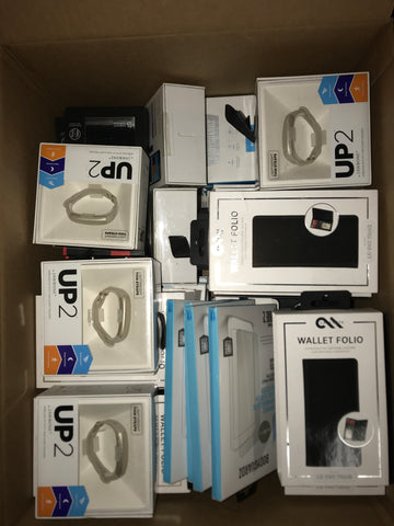 #CA1027 CELL PHONE ACCESSORIES - $1,222.58 MSRP, 100 UNITS, NEW SHELF PULL/BOX DAMAGE