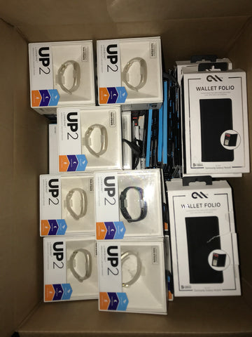 #CA1019 CELL PHONE ACCESSORIES - $1,402.58 MSRP, 100 UNITS, NEW SHELF PULL/BOX DAMAGE