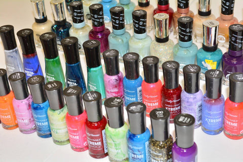 #SC702 ASSORTED SALLY HANSEN NAIL POLISH - EST~$628 MSRP, 150 UNITS, SHELF PULLS