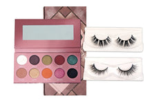 Load image into Gallery viewer, Eyeshadow Palette + Lashes Bundle