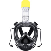 AQUAROBOTMAN Full Face Snorkel Mask with Detachable Camera Mount Seaview180° Anti Fog Anti Leak