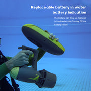 For Russia, MagicJet, Truly Powerful & Portable Underwater Scooter