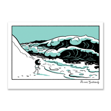 "Load image into Gallery viewer, ESTHER'S NOTEBOOK <br> ""The wave's dream"" <br> <font size=""+1"">Small format</font>"