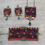 Hand Sewn Bohemian Jewellery set - Treasures of Silk Road