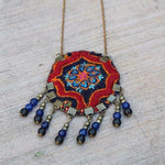 Handmade Bohemian Necklace - Treasures of Silk Road