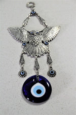 Large Owel Evil Eye Wall Decor