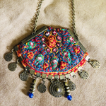 Large Bohemian Necklce (Adjustable Chain) - Treasures of Silk Road