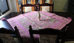Purple Golabetoon Bohemian Table Cloth (one meter by one meter)