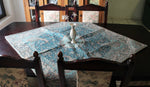 Green Bohemian Table Cloth - Treasures of Silk Road