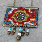 Hand Made Bohemian Necklace - Treasures of Silk Road